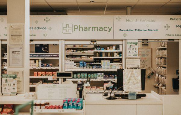 A pharmacy in Bristol