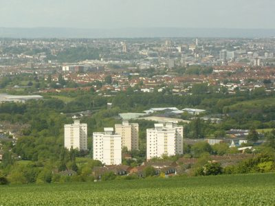 The view of Hartcliffe from Dundry