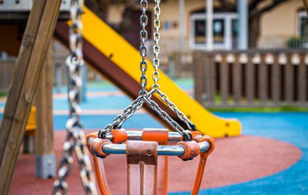 empty children's play area